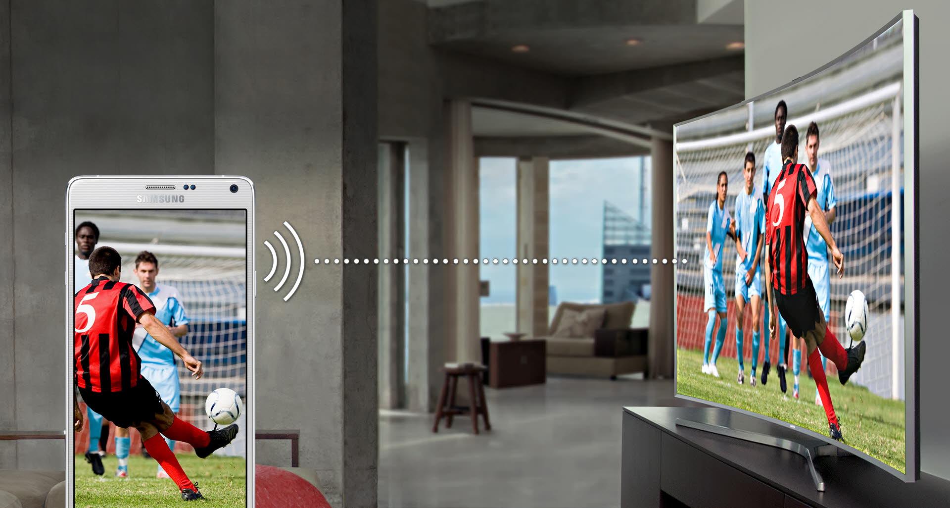 Łatwe łączenie z urządzeniami mobilnymi