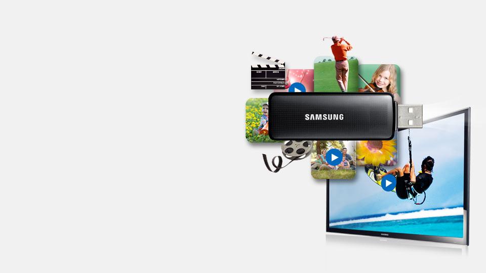 Oglądaj filmy bezpośrednio z USB