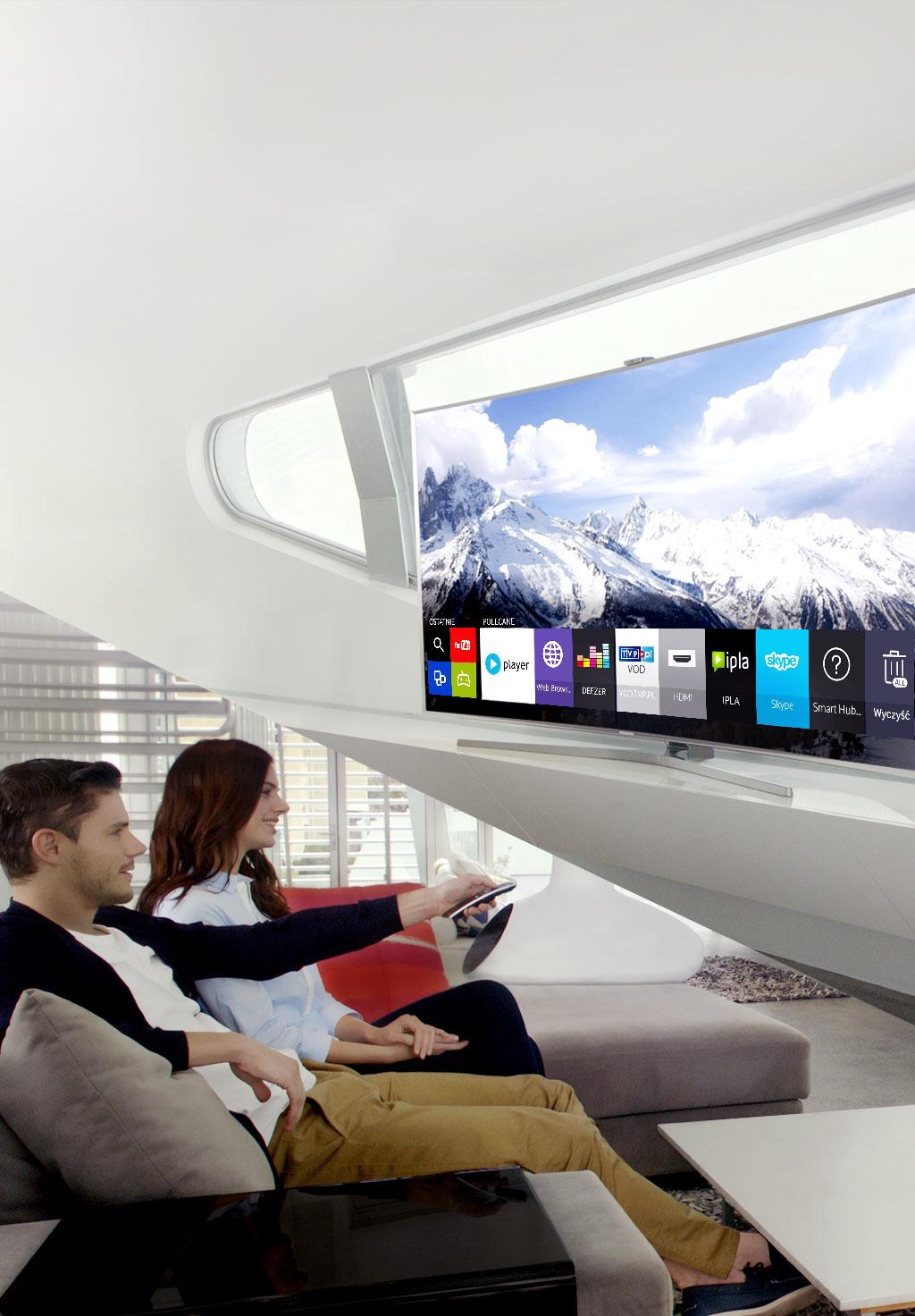 Nowy, intuicyjny i szybszy Smart TV
