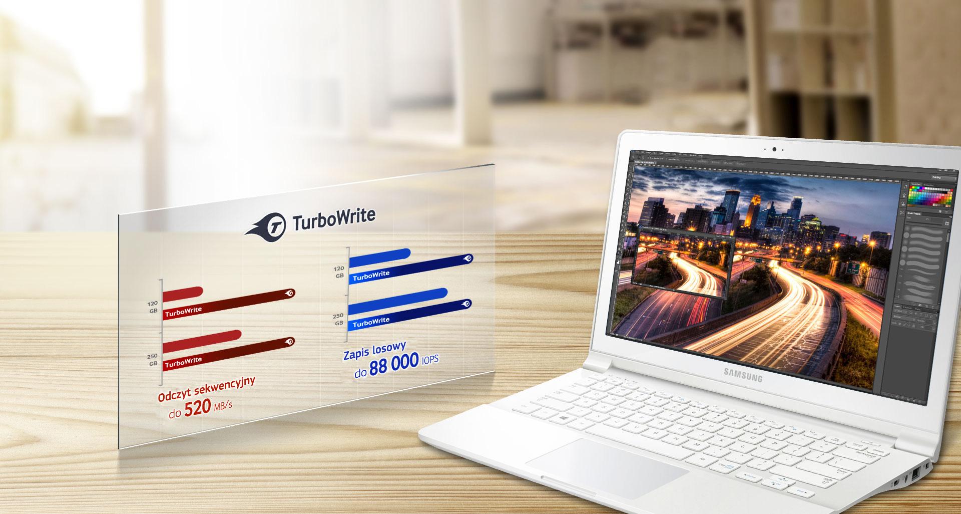 Optymalizuj zadania wykonywane na komputerze dzięki technologii TurboWrite