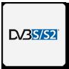 Tuner pozwalający na odbiór cyfrowej telewizji DVB pierwszej i drugiej generacji, które są nadawane przez satelity oraz tym samym na dostęp do oferowanych programów.