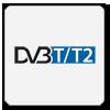 Tuner, który łączy w sobie funkcjonalności pozwalające na odbiór naziemnej telewizji cyfrowej DVB-T oraz naziemnej telewizji cyfrowej DVB-T drugiej generacji. Do kompresji audio/wideo używane są w tym przypadku standardy MPEG-2 oraz MPEG-4.