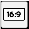 Jeden z najpopularniejszych formatów wyświetlanego obrazu. Następca formatu kinowego 4:3 stosowany jest powszechnie w telewizji wysokiej rozdzielczości HDTV oraz w telewizji cyfrowej. Rozdzielczość 16:9 to międzynarodowy standard obrazu wykorzystywany w Australii, Japonii, Kanadzie, Stanach Zjednoczonych oraz w Europie, w transmisjach satelitarnych. 16:9 stał się standardowym formatem wykorzystywanym w najnowszych technologiach zapisu Blu-ray oraz HD DVD.