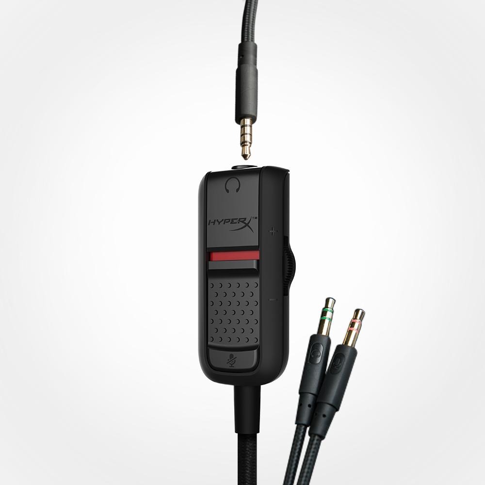 Dwumetrowy przedłużacz modułu sterowania z wtykami stereo i mikrofonu