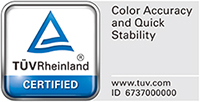 TUV color accuracy and quick stability