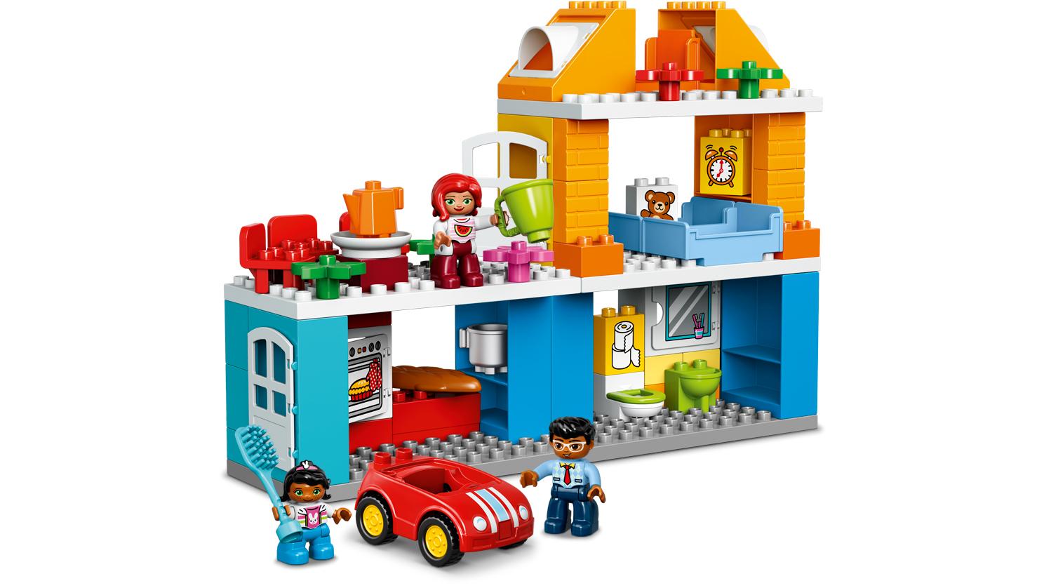 Lego duplo town dom rodzinny 10835 w for Modele maison lego