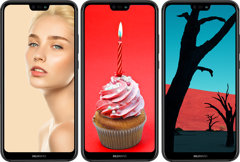 HUAWEI P20 lite full hd vivid colors