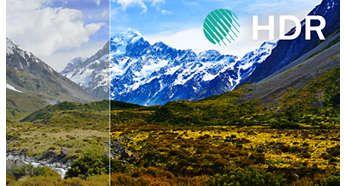 Najwyższy poziom kontrastu, koloru i ostrości dzięki HDR Perfect