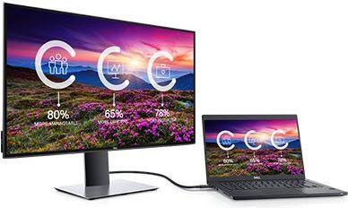 Monitor Dell U2719DC — maksymalna łączność