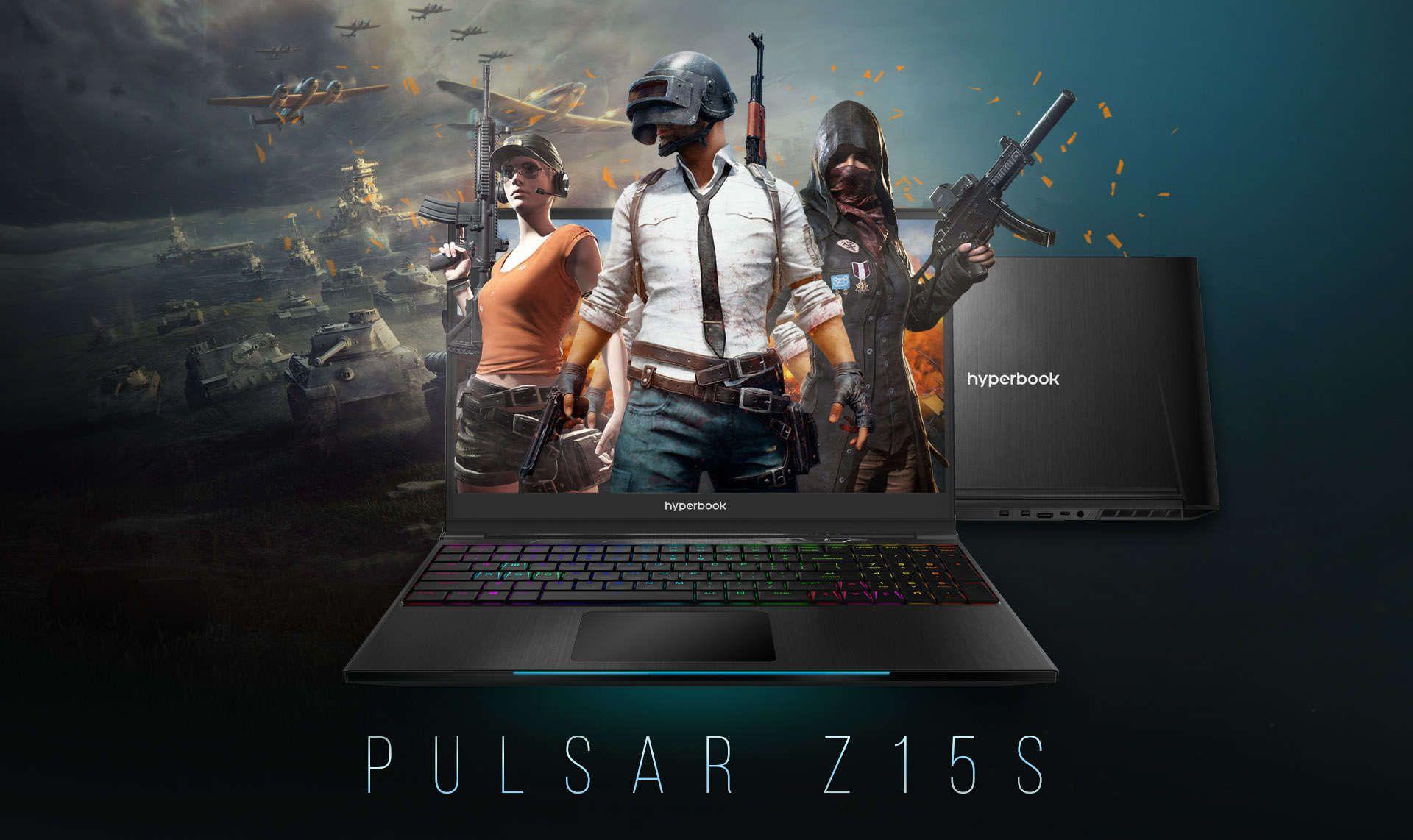 Hyperbook Pulsar Z15S 1