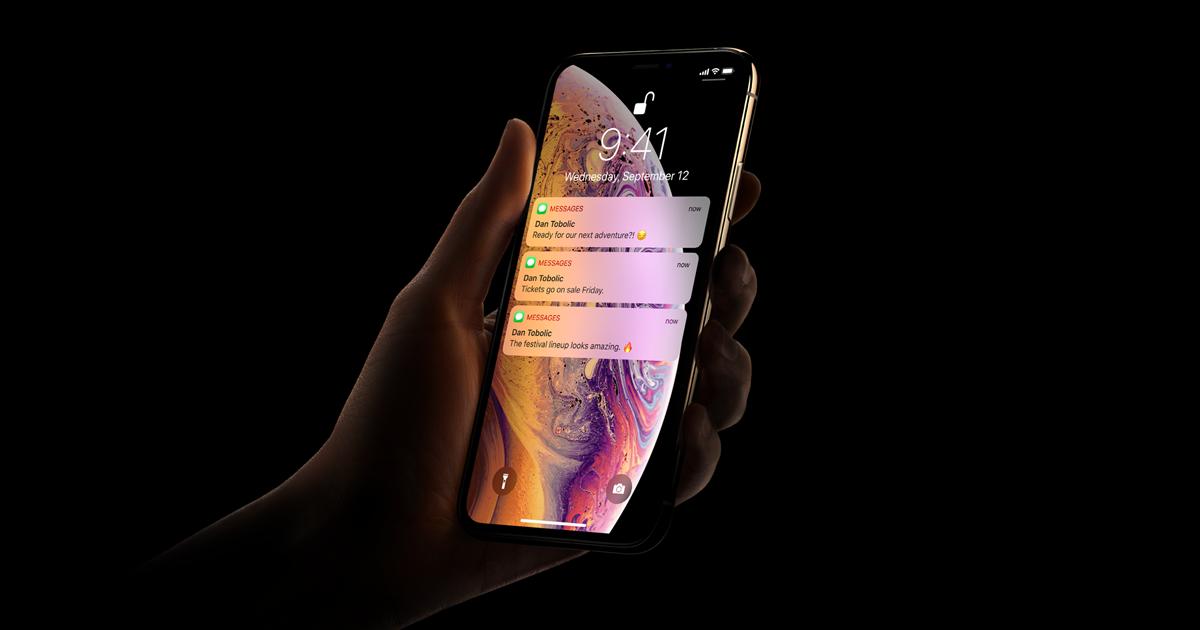 Znalezione obrazy dla zapytania apple iphone xs max a12 face id site:https://www.apple.com