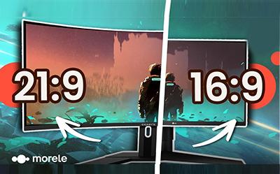 16:9 vs 21:9 - Które proporcje monitora są lepsze?