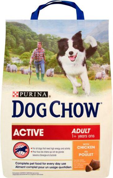 Purina Kurczak Dog Chow Adult Active