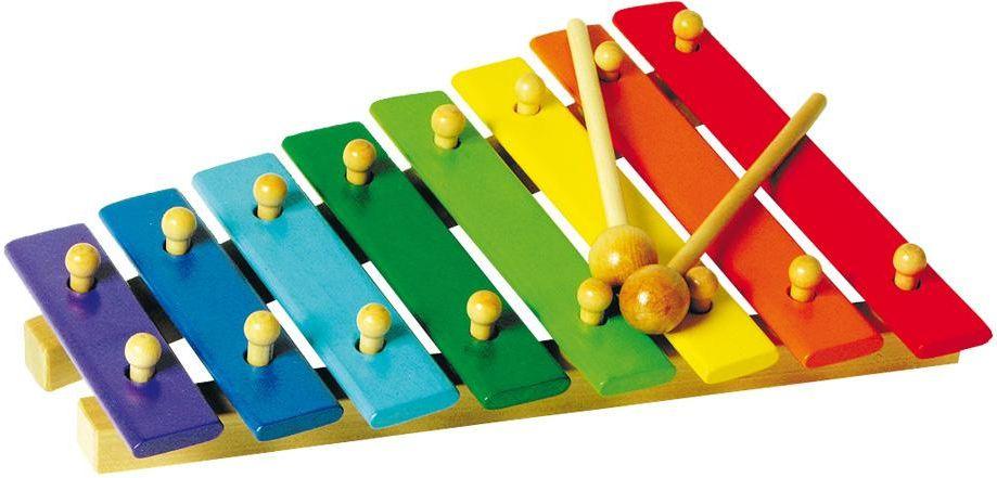 Ksylofon kolorowy