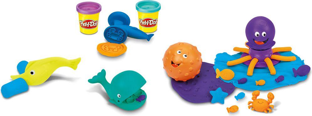 Play-Doh zwierzątka morskie