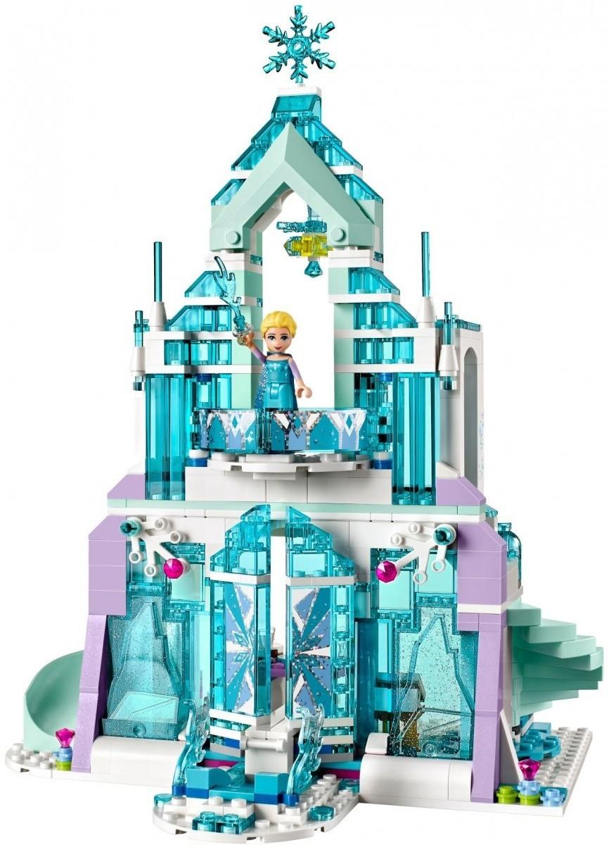Magiczny lodowy pałac Elsy