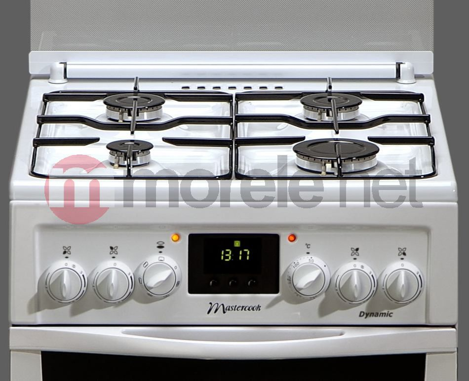Kuchnia gazowo elektryczna Mastercook KGE 3479 B DYNAMIC -> Kuchnia Gazowo Elektryczna Mastercook Elegance