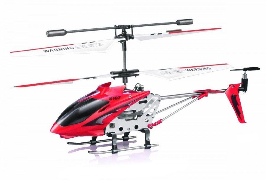 Helikopter S107G czerwony