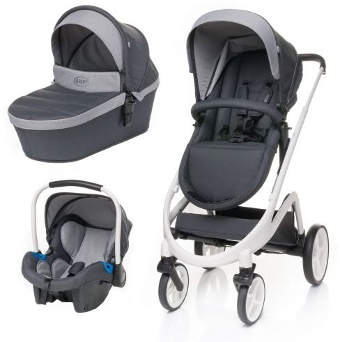 Wózek Cosmo 3w1 Dark Grey
