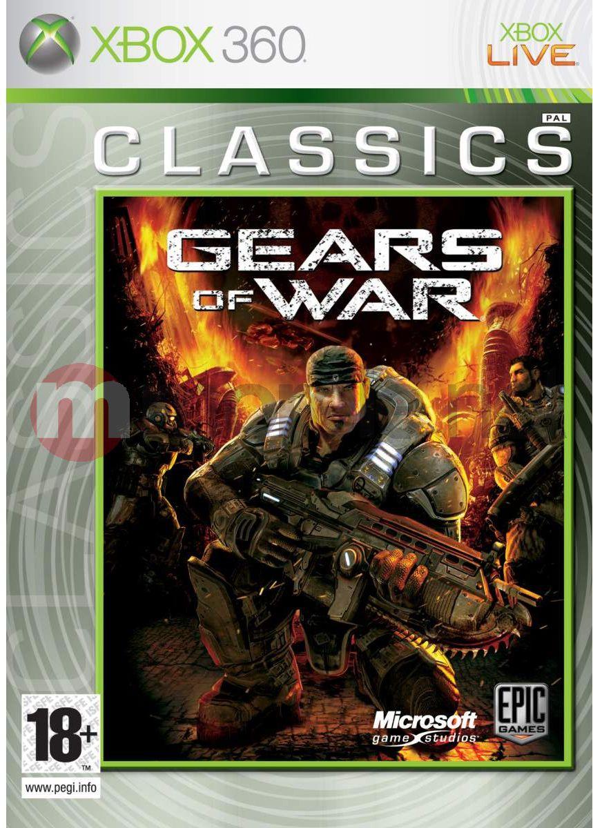 купить Gears of War (Classics) Xbox 360 Microsoft в онлайн магазине www.e5.ru Игры для Xbox 360, заказать и доставка...