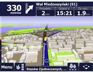 Nawigacja GPS Trak GPS-430 AutoMapa PL