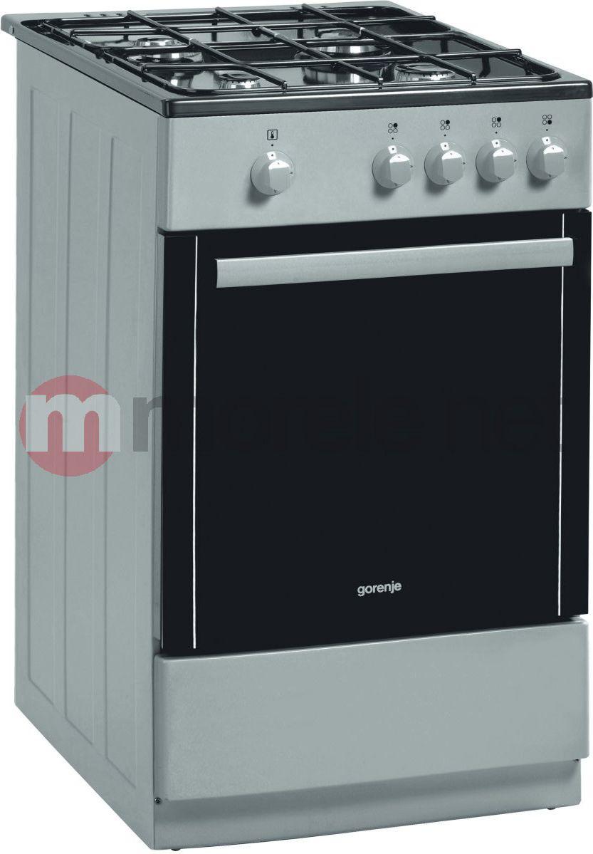 Kuchnia gazowa Gorenje G 51100 AX  5405038737  oficjalne   -> Kuchnia Gazowa Gorenje Opinie
