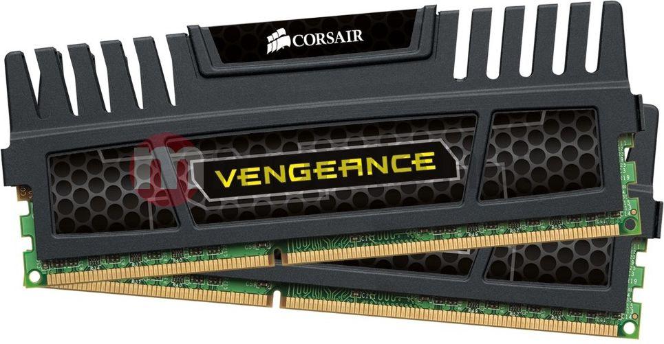 Pamięć Corsair Vengeance 2x4GB, DIMM,1600MHz, DDR3, CL9, XMP,Non-ECC, with Heatsink (CMZ8GX3M2A1600C9)