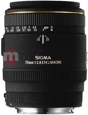 Obiektyw Sigma  70 mm f/2.8 EX DG Macro (270934) Sony