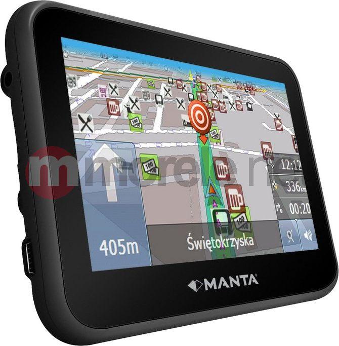 Nawigacja GPS Manta Multimedia GPS460 Mapa Europy