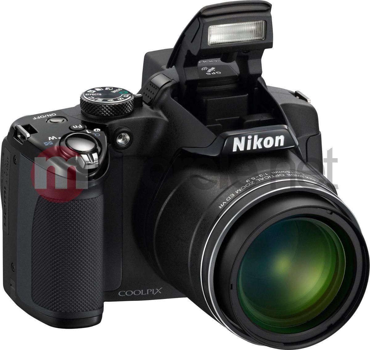 Aparat cyfrowy Nikon CoolPix P 510 (VMA911E1) czarny