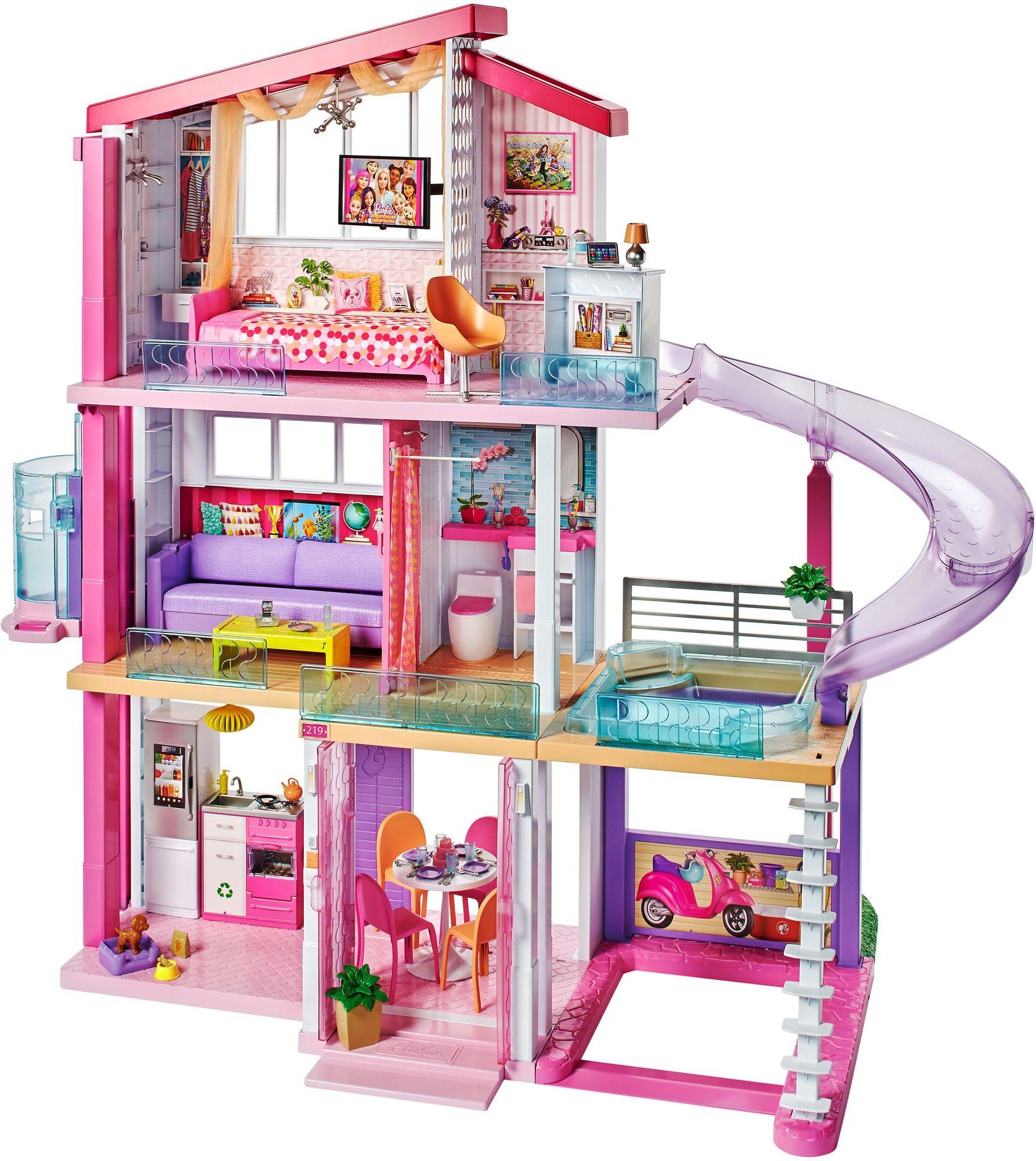 Idealny domek dla lalek światła i dźwięki