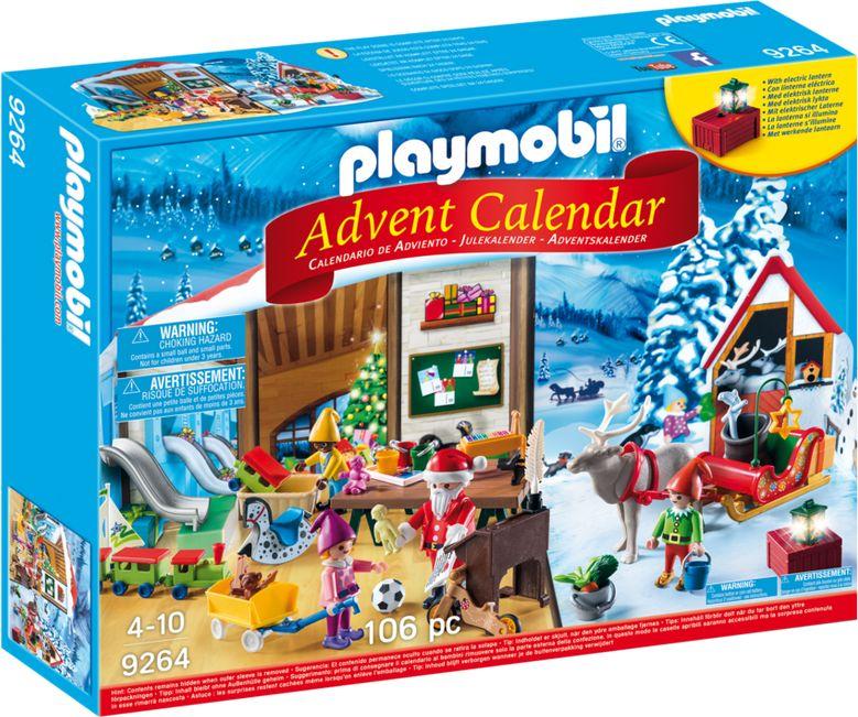Kalendarz adwentowy Pracownia Świętego Mikołaja