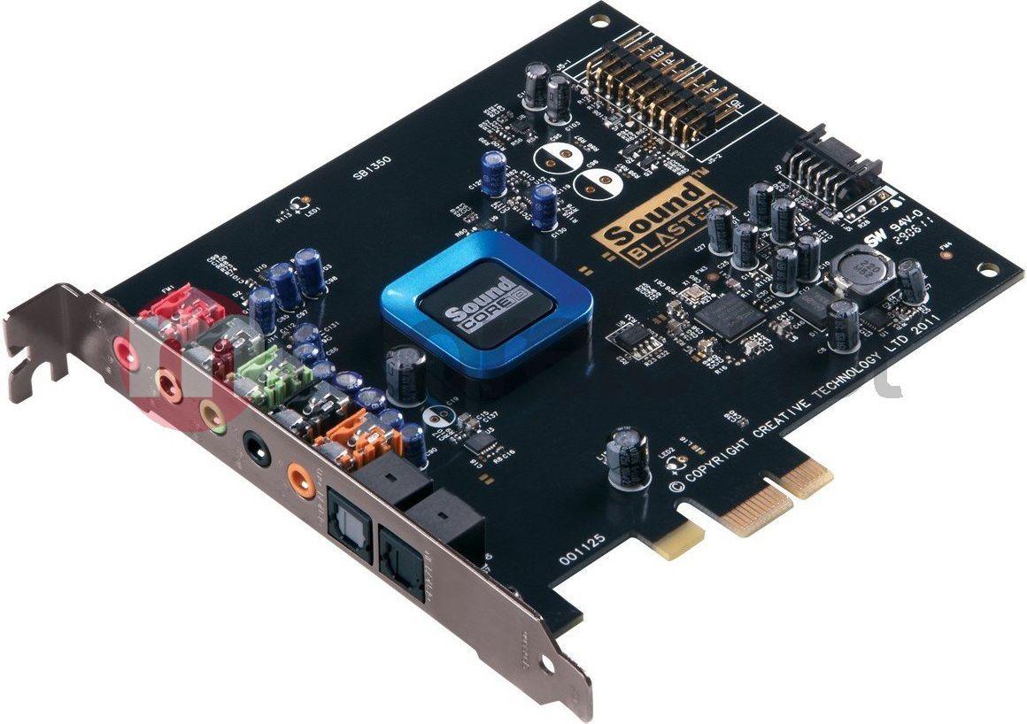 Karta dźwiękowa Creative Sound Blaster Recon3D PCIe Bulk (30SB135000000)  Raty od 18.00 zł - ŁowcyCen.pl