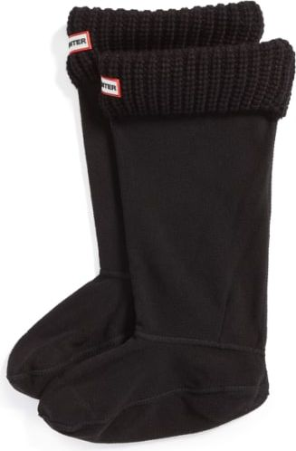 Hunter Ocieplacze do kaloszy Half Cardigan Boot Socks