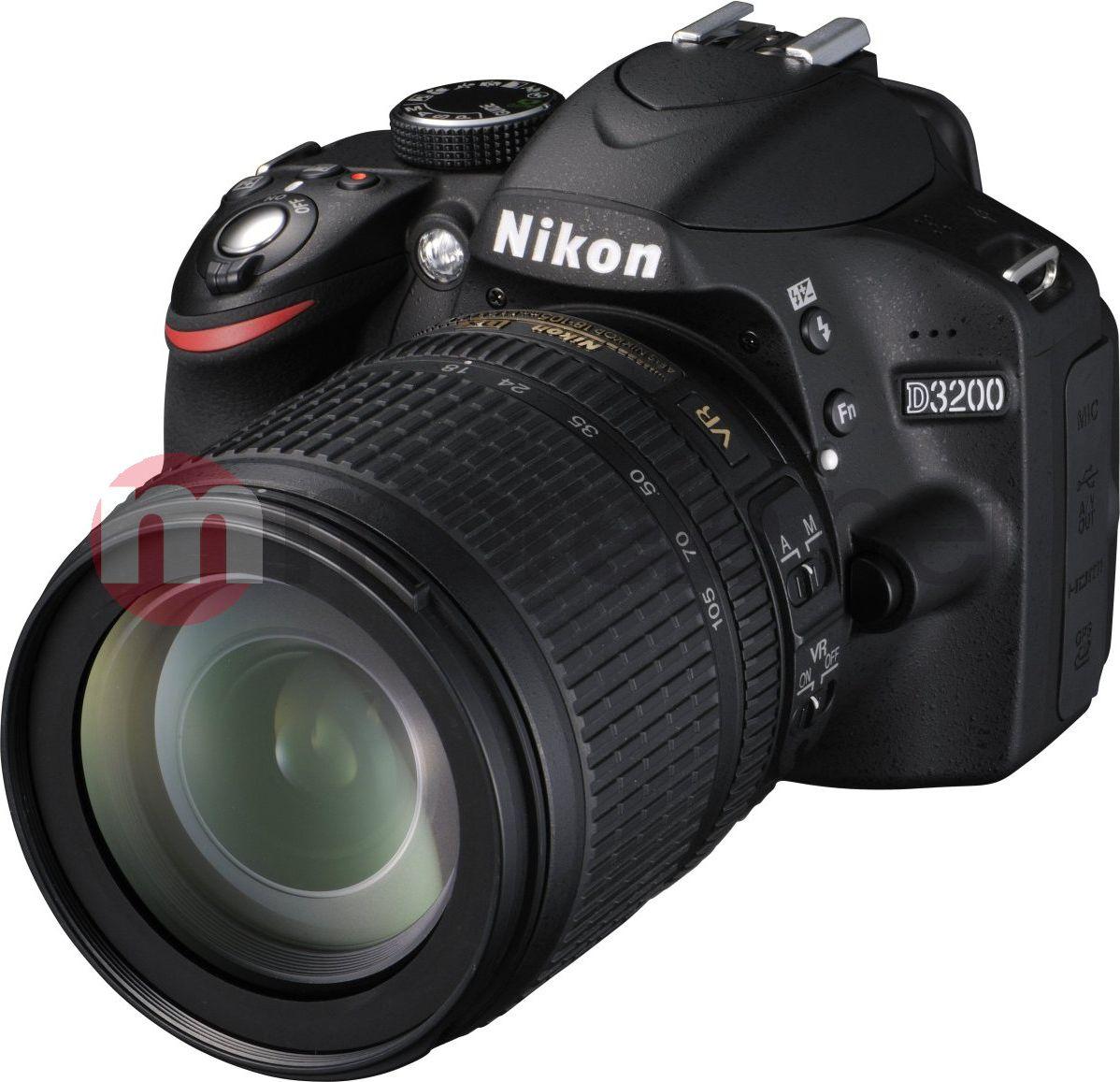 Lustrzanka cyfrowa Nikon  D3200 + AF-S DX 18-105mm VR (VBA330K005)