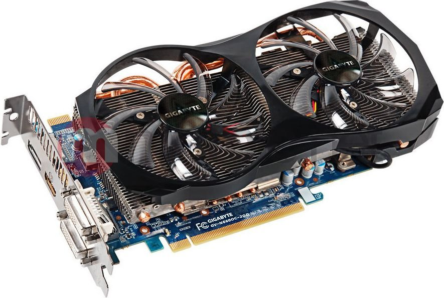 Karta graficzna Gigabyte  GeForce GTX 660 2048MB DDR5/192bit DVI/HDMI/DP PCI-E (wer. OC - OverClock) (GV-N660OC-2GD)