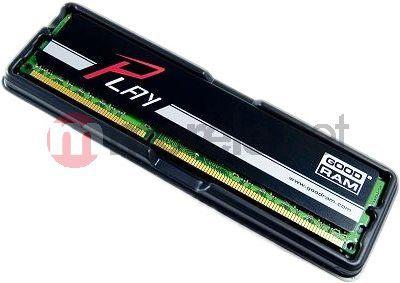 Pamięć GoodRam DDR3 PLAY 8GB 8192MB PC1600 BLACK CL10 - (GY1600D364L10/8G)