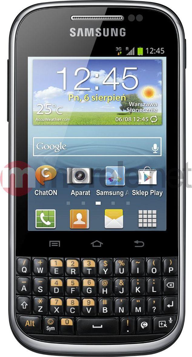 Smartfon Samsung B5330 Galaxy Ch@t Czarny