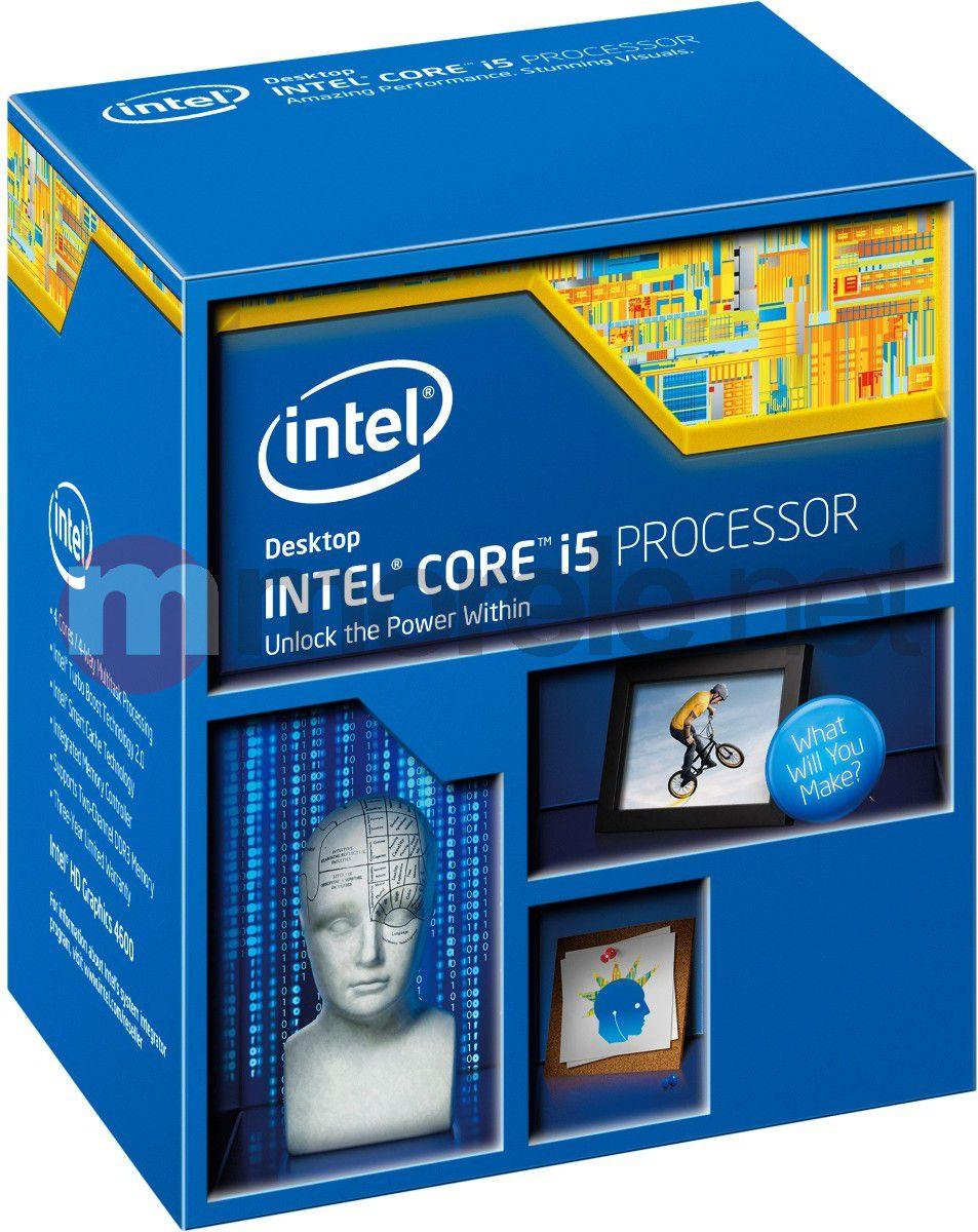 Procesor Intel Core i5-4670K, 3.4GHz, 6MB, BOX (BX80646I54670K)