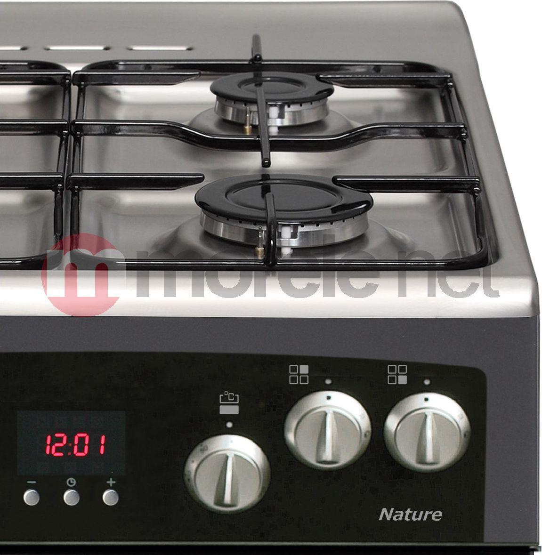 KGE 3415 SXN w Morele net -> Kuchnia Gazowo Elektryczna Mastercook Elegance