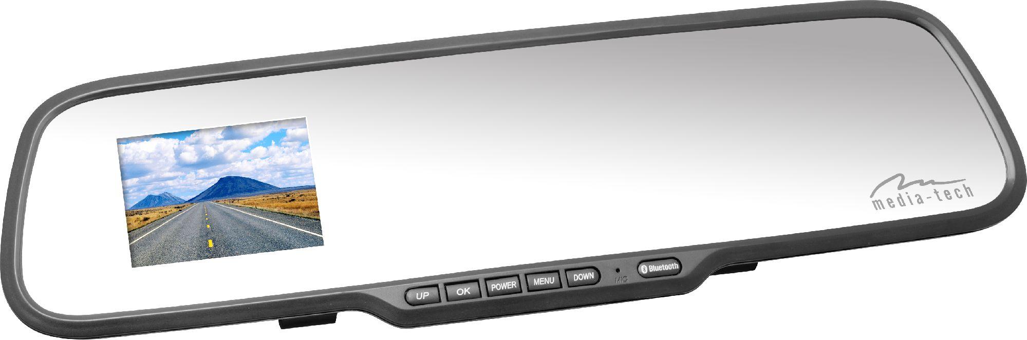 Kamera samochodowa Media-Tech MT4046 U-DRIVE MIRROR FULL HD