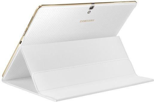 Tab S Book Cover Dazzling White : Book cover do galaxy tab s quot dazzling white ef