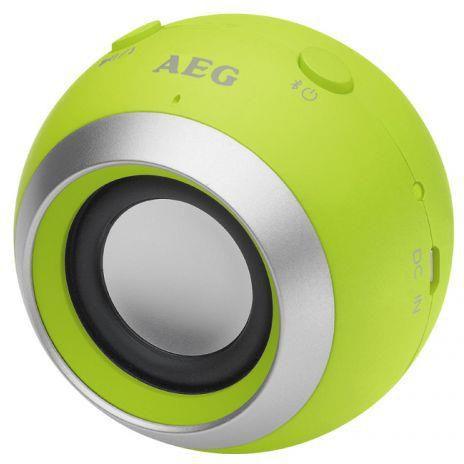 Głośnik AEG BBS 4817 Zielony  - ŁowcyCen.pl