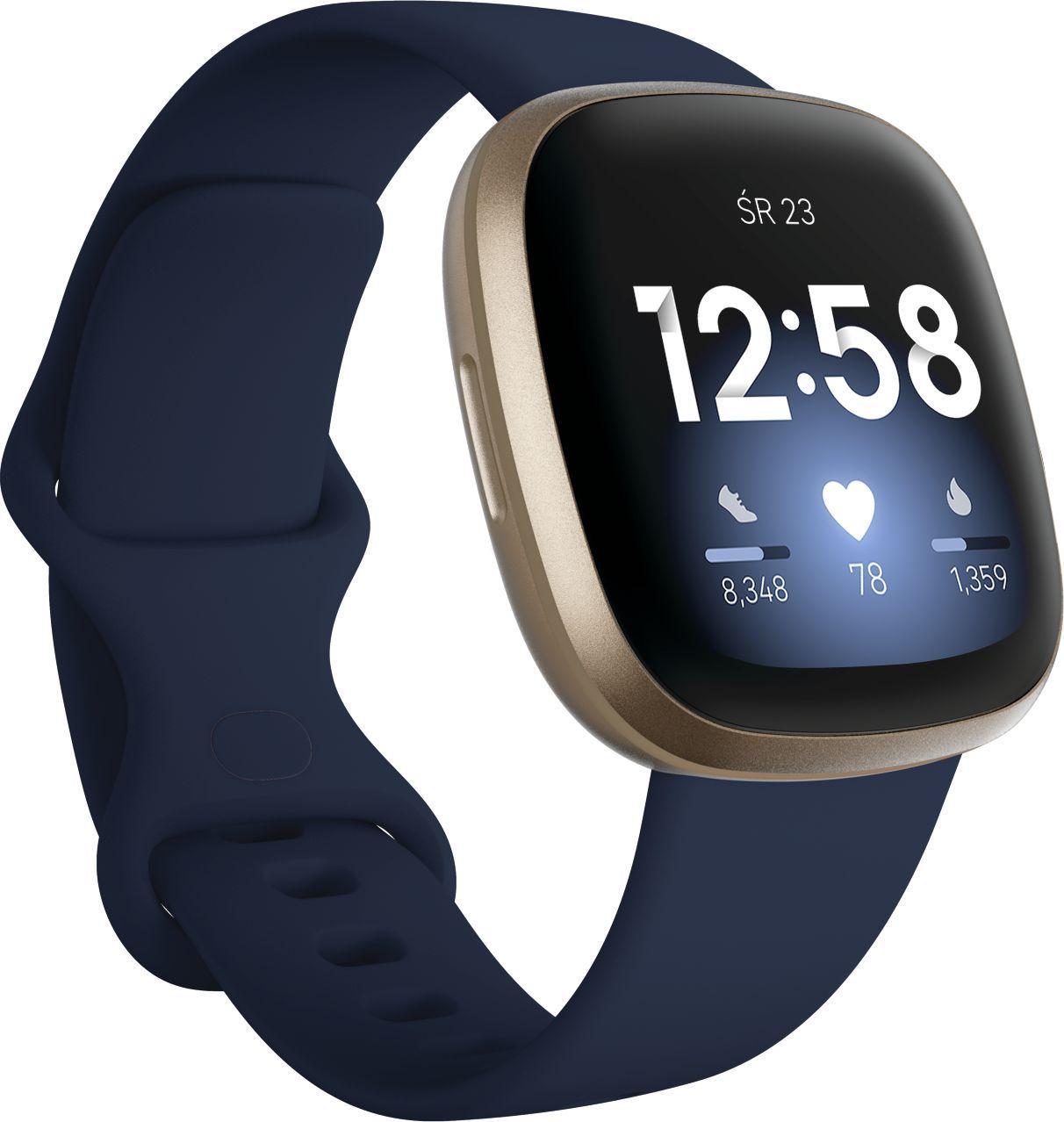Smartwatch Fitbit Versa 3 Granatowy  (4061856797939)