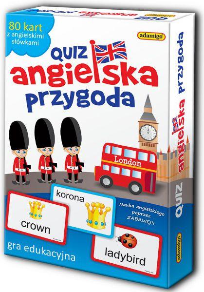Gra Quiz Angielska przygoda