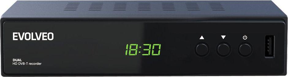 Tuner TV Evolveo Dekoder Delta HD, Dual HD DVB-T (DT-4050HD) Darmowy odbiór w 19 miastach! - ŁowcyCen.pl