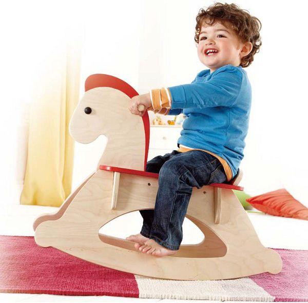 drewniany Koń Na Biegunach