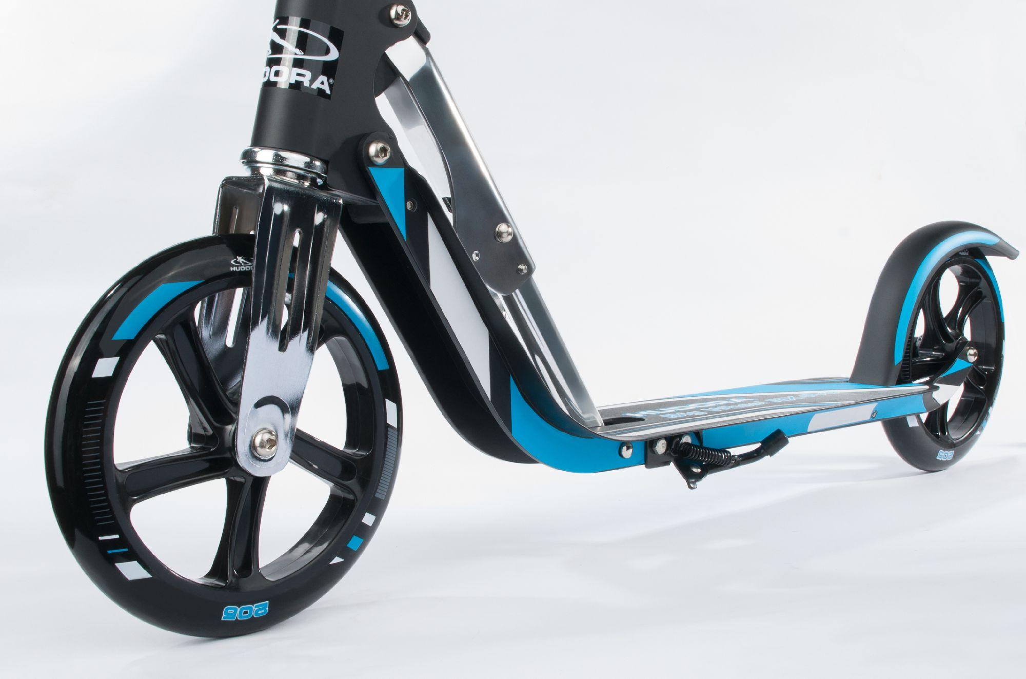hudora hulajnoga big wheel rx pro 205 niebieska 14709 01 w sklep. Black Bedroom Furniture Sets. Home Design Ideas