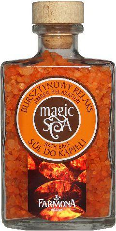 Farmona Aromaterapia Magic Spa Sól do kąpieli Bursztynowa 500g