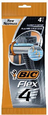 Bic Maszynka do golenia 4 Flex Pouch 4